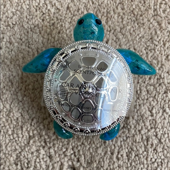 Sea Turtle Car Freshener Visor Clip